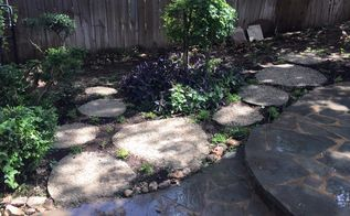 diy stepping stones, concrete masonry