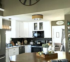 Faux Kitchen Cabinets Part - 21: How To Diy Faux Leaded Glass, Doors, How To, Kitchen Cabinets, Painting