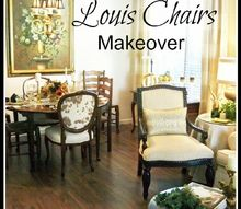 my 9 99 louis chairs makeover