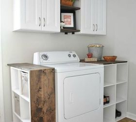 Transform Your Laundry Room With Shelves