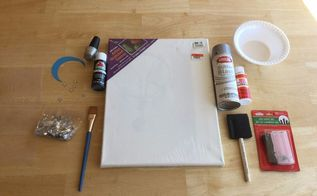 easy light up canvas art, crafts