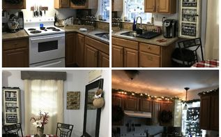 kitchen christmas makeover, kitchen design