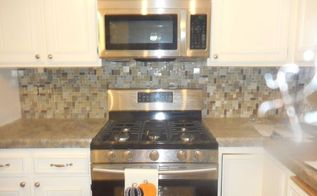 kitchen counter and back splash makeover, countertops, kitchen design