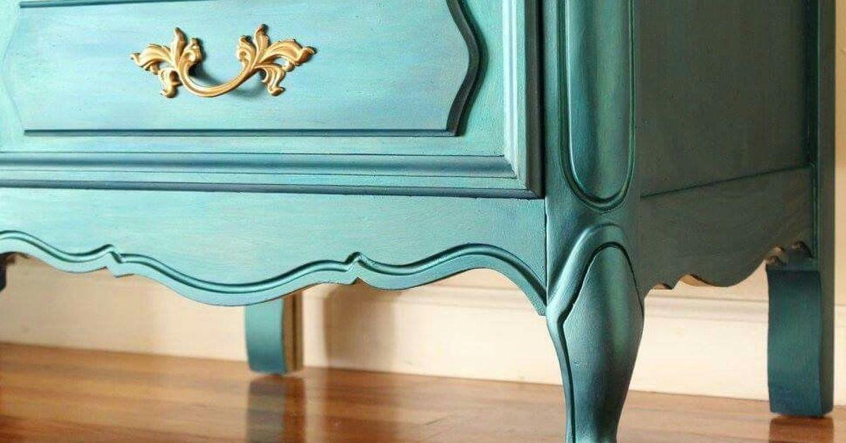 DIY Sparkling Mermaid Lingerie Chest | Hometalk