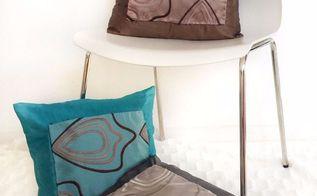 fabric swatch for throw pillows diy, reupholster