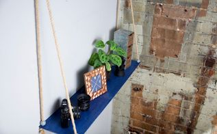 diy floating shelf, shelving ideas