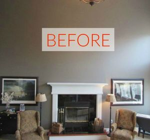 s 10 jaw dropping fireplace makeovers we can t stop looking at, fireplaces mantels