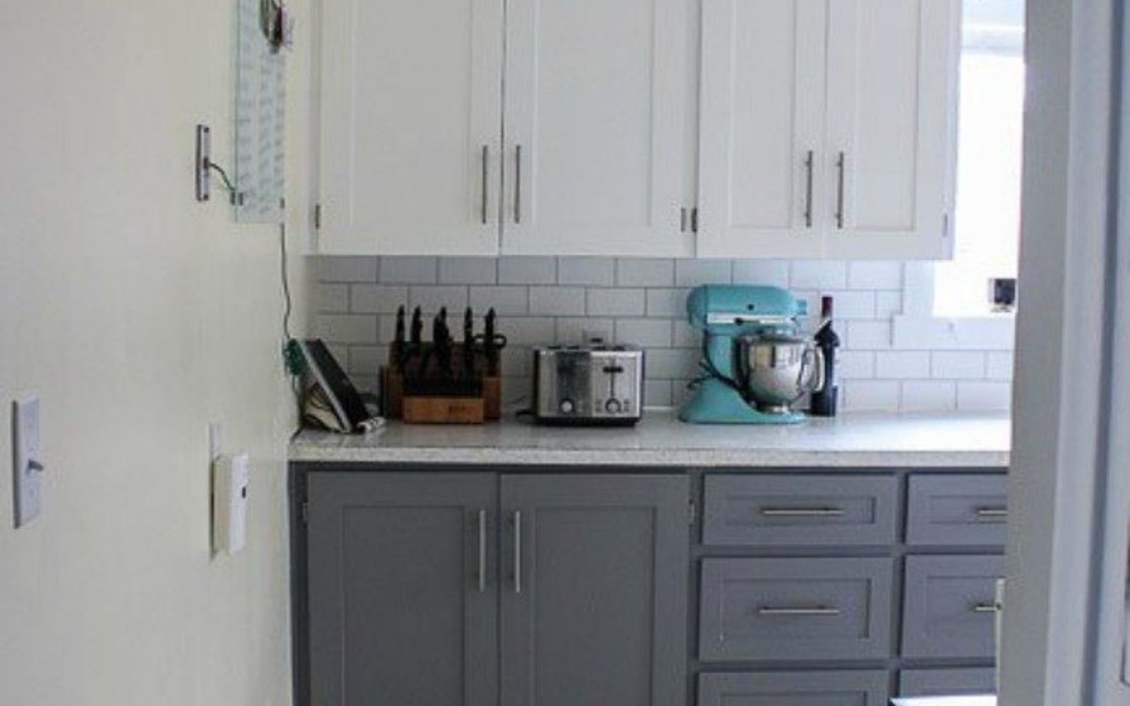 s transform your kitchen cabinets without paint 11 ideas , kitchen cabinets, kitchen design, Add some trim for an easy upgrade