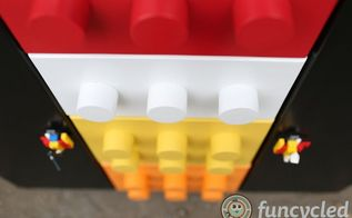 how to make a lego cabinet dresser, how to, kitchen cabinets, kitchen design, painted furniture