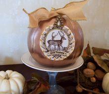 quick thanksgiving pumpkin makeover