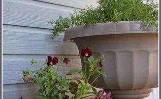 textured fall acorn flower pots, gardening