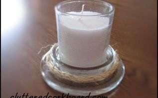 use a lot of jar candles here are 2 idea s for the glass lids