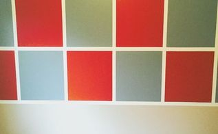how to paint a checkerboard wall, how to
