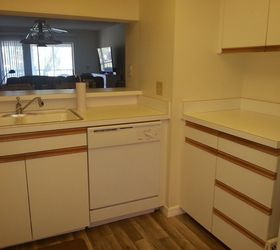 Exceptional Redo Of 70 S Kitchen With Oak Strip Cabinets Under 200 , Kitchen Cabinets,  Kitchen