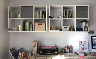 office wall organization, organizing