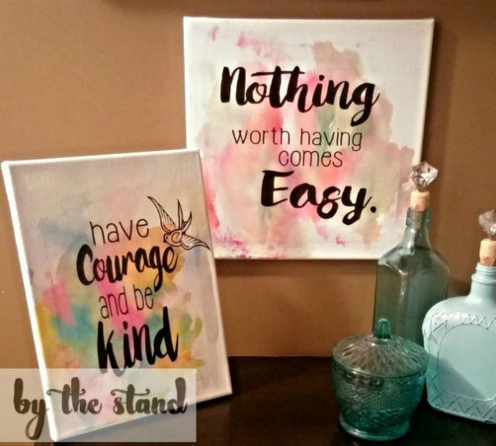 These coffee filter decor ideas are perfect for your home for Coffee painting ideas