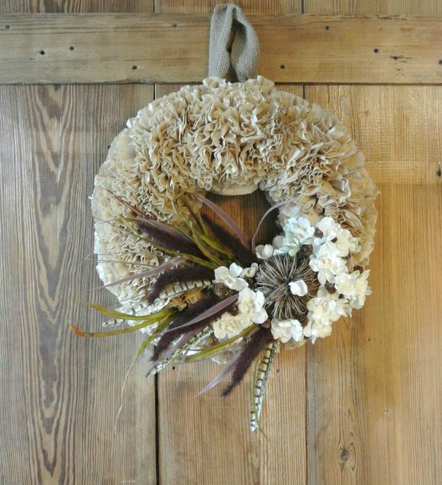 Pinch Them Into A Stunning Wreath