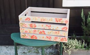 how to decoupage furniture, how to, painted furniture