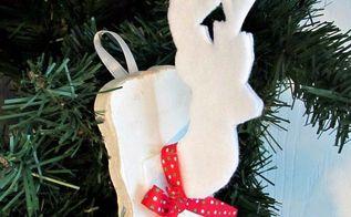 faux deer head ornament, christmas decorations, pets animals, seasonal holiday decor