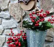 bucket planter, gardening