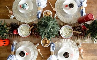 hot cocoa christmas tablescape