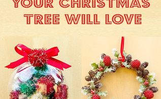 10 diy ornaments your christmas tree will love, christmas decorations, seasonal holiday decor