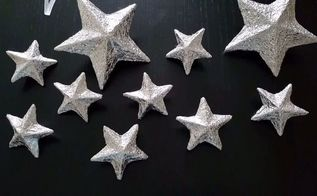 shiny christmas stars diy