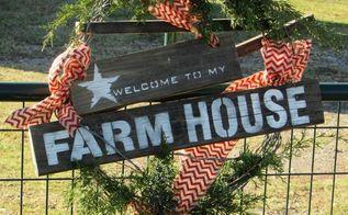 diy farmhouse wreath, crafts, wreaths