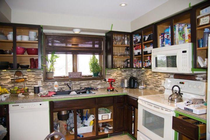 diy kitchen update for under 200 before and after kitchen design