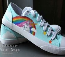 painted canvas sneakers perfect christmas gift for teens o