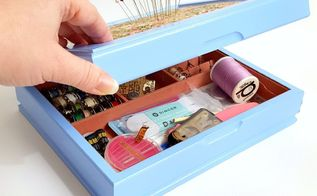 from jewelry valet to sewing kit with built in pin cushion , closet