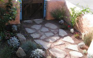 mosaic walkway, concrete masonry