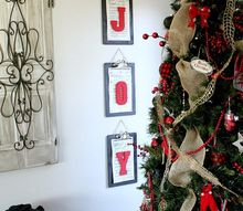 simple holiday wall art you can make for less than 25, crafts