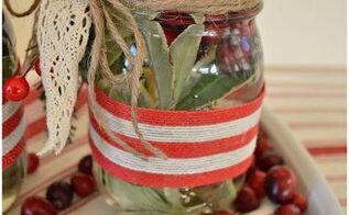 mason jar candleholder tutorial, how to, mason jars