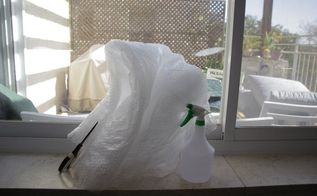 bubble wrap window insulation hack