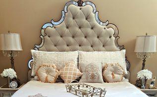 guest room makeover, Bling Bedroom
