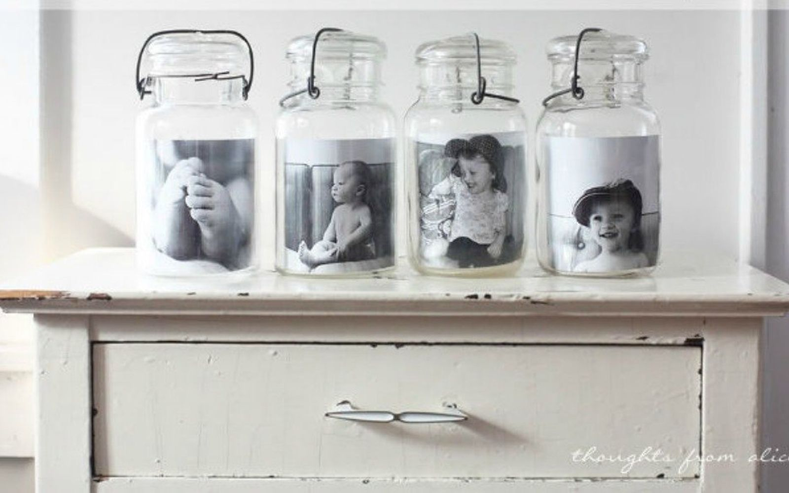 s 14 exciting mason jar ideas you just have to try, mason jars, 9 The elegant simple photo gallery