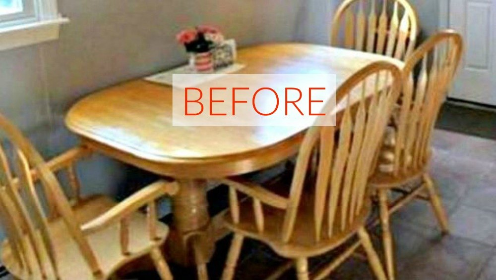 9 Dining Room Table Makeovers We Can't Stop Looking At ...