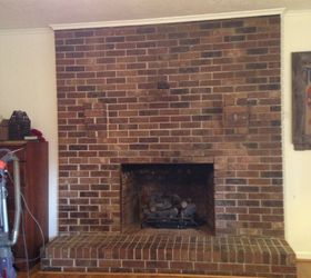 How to remove 3 brick shelves above the fireplace | Hometalk