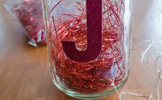 make gorgeous christmas luminaries using mason jars and twinkle lights, mason jars