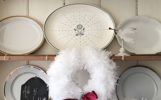 snow white fluffy wreath, crafts, wreaths