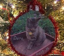 pet photo christmas ornaments, christmas decorations, seasonal holiday decor