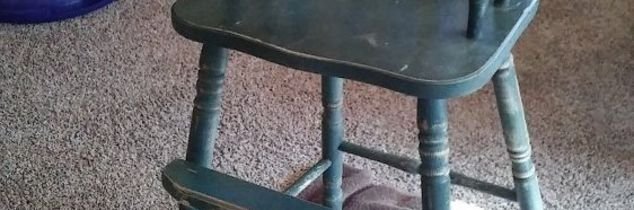 q how to seal tray on wooden high chair, how to