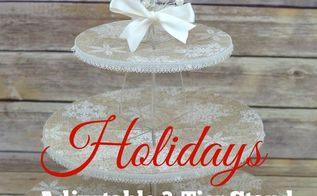 how to spruce up a plain acrylic stand using wrapping paper , how to