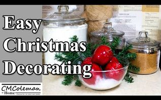 easy christmas decorations, christmas decorations