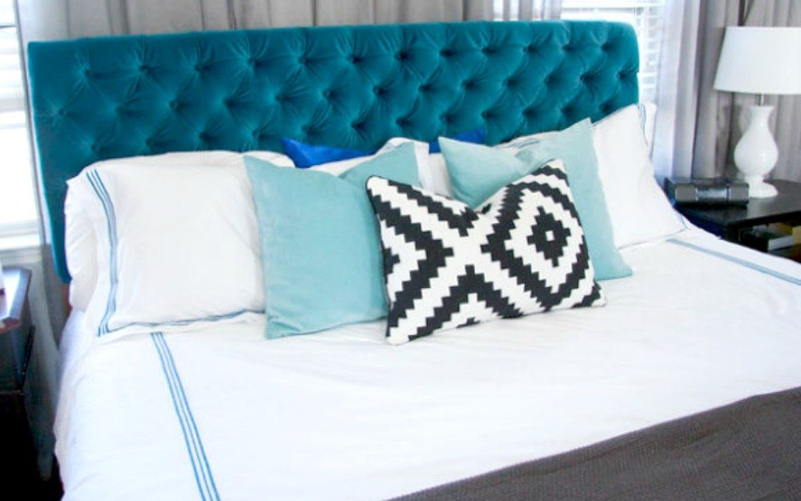 s the hottest home decor trends of 2017, home decor, Upholstered Headboards