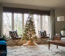 modern and simple christmas home tour, home decor