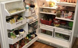 under 20 dollar tree fridge makeover, appliances