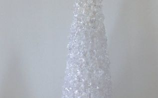 crystal ice fillers holiday tree diy