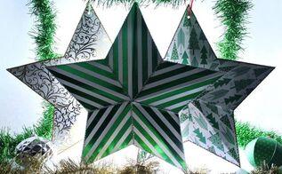 cardboard light up christmas stars